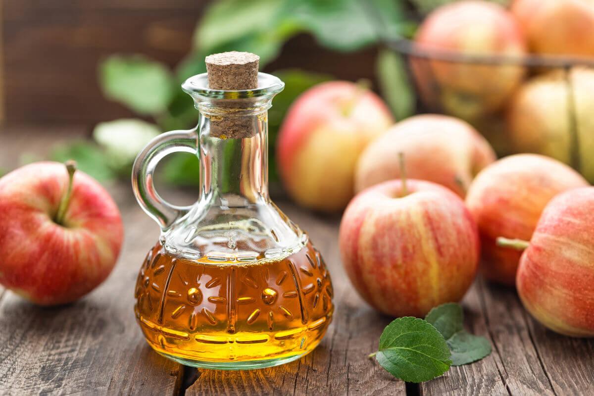 L'aceto di mele e i risciacqui acidi
