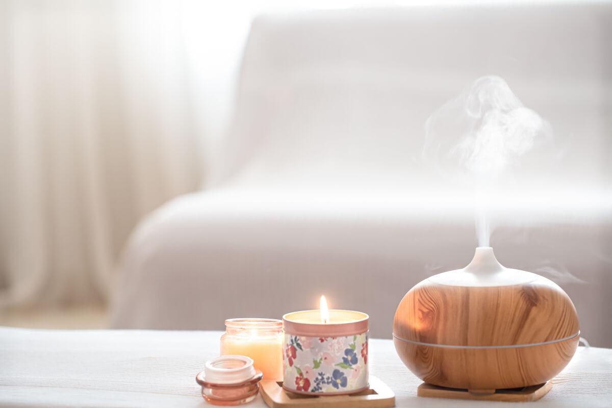 ritrovare il benessere mentale Usare diffusore di aromi